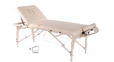 Трехсекционный массажный стол VISION JUVENTAS DELUXE